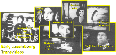 Glimpses of the spirit worlds (third level) through the TV of ITC researchers Maggy and Jules Harsch-Fischbach of Luxembourg (circa 1987)