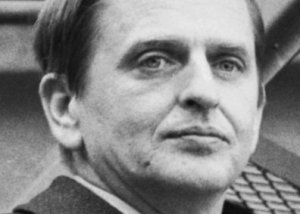 A report of Swedish Prime Minister Olof Palme's arrival in the spirit worlds arrived a decade after his assassination.