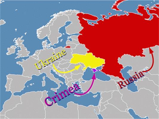 Crimea-Ukraine-Russia