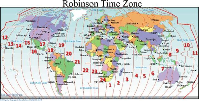 "The half-hour meditations on Mondays and Fridays will start at 6pm (18:00 hours, or ""18"") US eastern time.  You can find your location on the map to determine the starting time in your time zone. For example, 3pm (15:00, or ""15"") in Los Angeles, would be 9am (09:00, or ""9"") in New Zealand."