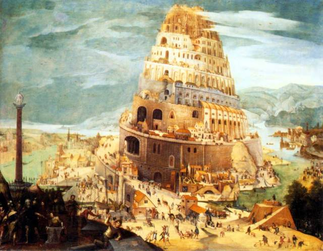 Tower of Babel, by Able Grimmer (1565-1630)
