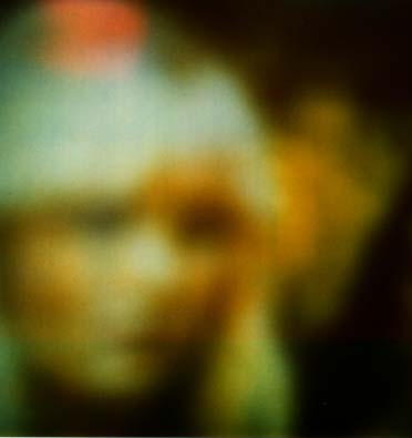 Nsitden, one of The Seven Rainbow People, shows himself to the INIT group in a subtle human form (foreground) and as a more ethereal being (background). (Transimage received 1997 February 26, by Maggy Fischbach, Station Luxembourg)